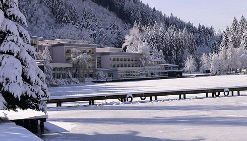 Ossiachersee im Winter