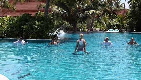 Pool der Clubanlage