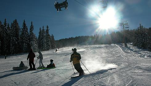 Skifahren im Robinson Club Landskron
